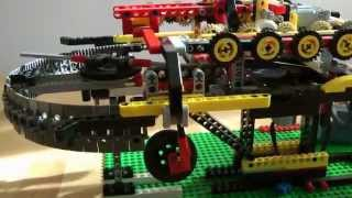 getlinkyoutube.com-kuppelbare Lego Technic Seilbahn