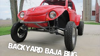 getlinkyoutube.com-Baja Bug, Backyard build, Cover of Hot VW Magazine 11-2014