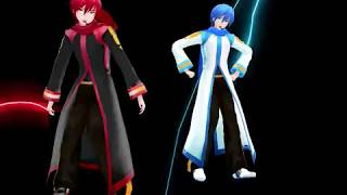 getlinkyoutube.com-[MMD MME] Matryoshka [Kaito and Black Coat Akaito]