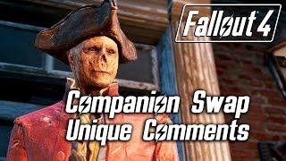 Fallout 4 - Companion Swap Unique Comments (Hancock)