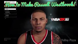 getlinkyoutube.com-How to Create Russell Westbrook on NBA 2k16 | My Player Face Sculpting