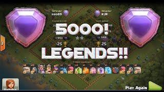 getlinkyoutube.com-Clash of clans- WE MADE LEGENDS ??!! 5000 TROPHYS