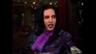getlinkyoutube.com-Marilyn Manson- David Letterman 1998 (First appearance)