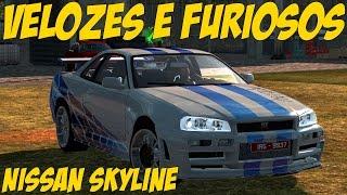 getlinkyoutube.com-Nissan skyline velozes e furiosos - Euro Truck simulator 2 - volante g27