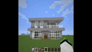 getlinkyoutube.com-Jak zrobić ładny domek w Minecrafcie