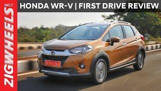 Honda WR-V (WRV) | First Drive Review | ZigWheels.com