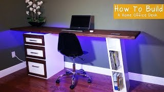 getlinkyoutube.com-How To Build A Modern Desk For Your Home Office