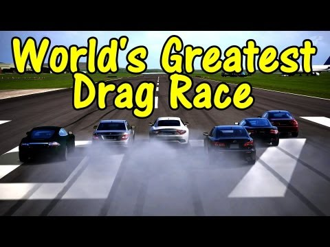 GT5 - World's Greatest Drag Race (Sport Coupe and Sedan)