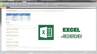 getlinkyoutube.com-Tuto Excel : la fonction RechercheV