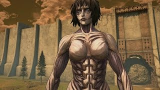 getlinkyoutube.com-Attack on Titan: Eren Vs Black Female(Ps4/1080p)