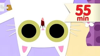 Peek-a-boo Song + More | Kids Songs | Super Simple Songs