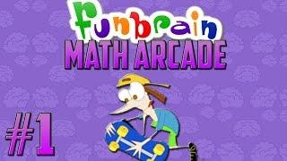 getlinkyoutube.com-Cecil, Why?!?! | FunBrain: Math Arcade w/ FACECAM - PART 1