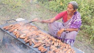 getlinkyoutube.com-How To Cook 120 Small Fish Fry Recipe || Myna  InfoStreet Food || Food