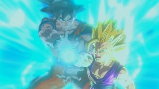 getlinkyoutube.com-Dragon Ball Xenoverse - Gohan vs Cell Full Fight
