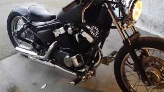 getlinkyoutube.com-125 virago bobber wcb turn around
