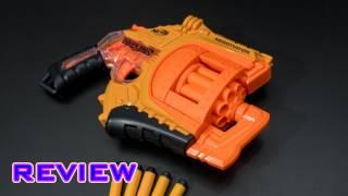 getlinkyoutube.com-[REVIEW] Nerf Doomlands Negotiator Unboxing, Review, & Firing Test