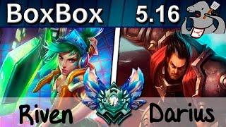 getlinkyoutube.com-BoxBox - Riven vs Darius - Top - Diamond S5 | 299