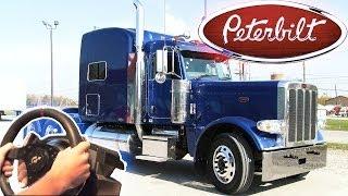 getlinkyoutube.com-Peterbilt 389 - American Trucking V8 750hp engine to the max! (Euro Truck Simulator 2 + rain mod)