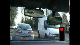Driving-lessons-Glasgow-turn-right-traffic-lights #1