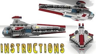 getlinkyoutube.com-How To Build Lego STAR WARS - VENATOR CLASS (Micro)
