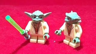 getlinkyoutube.com-SY 스타워즈 요다 미니피규어 레고 짝퉁 조립 리뷰 Lego knockoff Starwars yoda Yuda