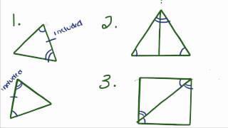 getlinkyoutube.com-Introduction to Geometry - 16 - Congruent Triangles ASA, AAS