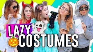 EASY LAST-MINUTE COSTUME IDEAS FOR LAZY PEOPLE! // Jill Cimorelli