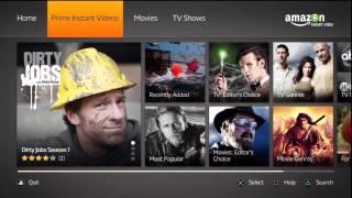 getlinkyoutube.com-Amazon Instant Video for PS3