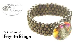 getlinkyoutube.com-Make Peyote Rings
