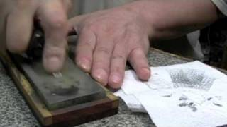 getlinkyoutube.com-スィーベルナイフの研ぎ方(スイーベルナイフの研ぎ方)