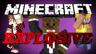 getlinkyoutube.com-Minecraft EXPLOSIVE Parkour w/ BajanCanadian and CharlieBuilds