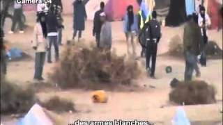 getlinkyoutube.com-Le démantèlement du camp,  Okdim izik dans laayoune.flv