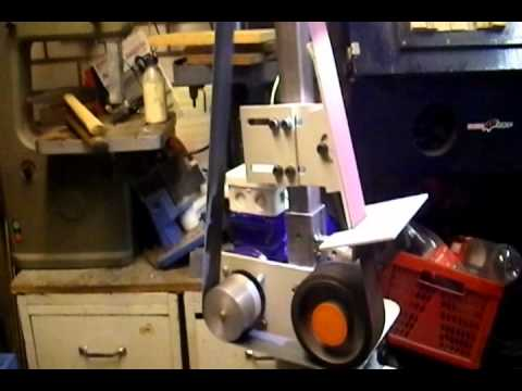 DIY belt grinder.avi