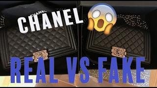 getlinkyoutube.com-HOW TO SPOT A FAKE CHANEL HANDBAG! Chanel Real vs. Fake Comparison   Opulent Habits