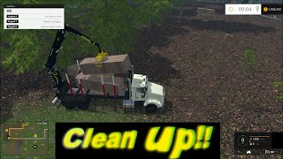 getlinkyoutube.com-Farming simulator 2015 The lumber mill!!  Setup !!