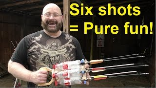 "getlinkyoutube.com-""The Coke Bottle Gatling"": Craziest contraption ever?"