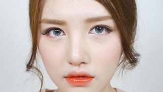 getlinkyoutube.com-[ENG] 혼혈인(처럼 보이는) 메이크업 - Exotic Makeup | 다또아