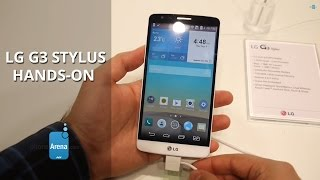 LG G3 Stylus hands-on