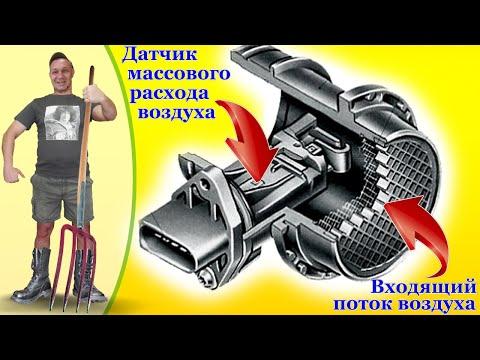 ДИАГНОСТИКА и ЧИСТКА Датчика Массового Расхода Воздуха ДМРВ, MAF