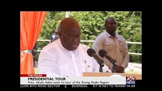 Presidential Tour - The Pulse on JoyNews (21-5-18)