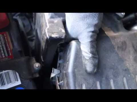 How to Change Your Air Filter - Acura TSX