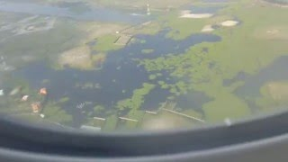 getlinkyoutube.com-Landing at Dhaka Shah Jalal ZIA International Airport in Bangladesh