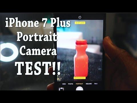 iPhone 7 Plus NEW Portrait Camera TEST!!!