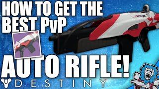 getlinkyoutube.com-Destiny: The Best PvP / Crucible Auto Rifle In The Game & How To Get It! (The Suros ARI-45)