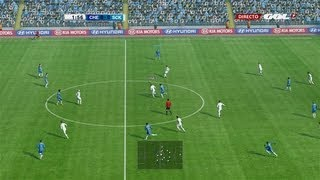 getlinkyoutube.com-PES 2013 PSP gameplay HD - Barcelona vs Real Madrid