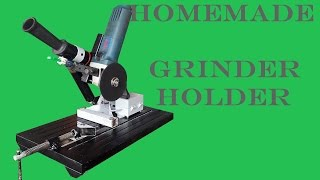 getlinkyoutube.com-Homemade angle Grinder Stand/Holder