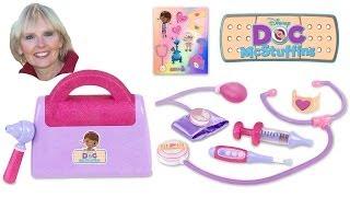 getlinkyoutube.com-♥♥ Doc McStuffins Doctor's Bag Set