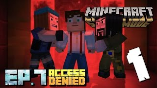 Minecraft: Story Mode – Episode 7: Part 1 [Access Denied] Walkthrough/Gameplay [PS4 GAME]