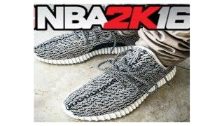 """getlinkyoutube.com-NBA 2k16- SHOE CREATOR- YEEZY """"350 BOOST"""""""