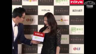 getlinkyoutube.com-[Vietsub] f(x) Krystal Red Carpet + Interview - Baeksang Arts Awards 2015 {Krytoria Team}